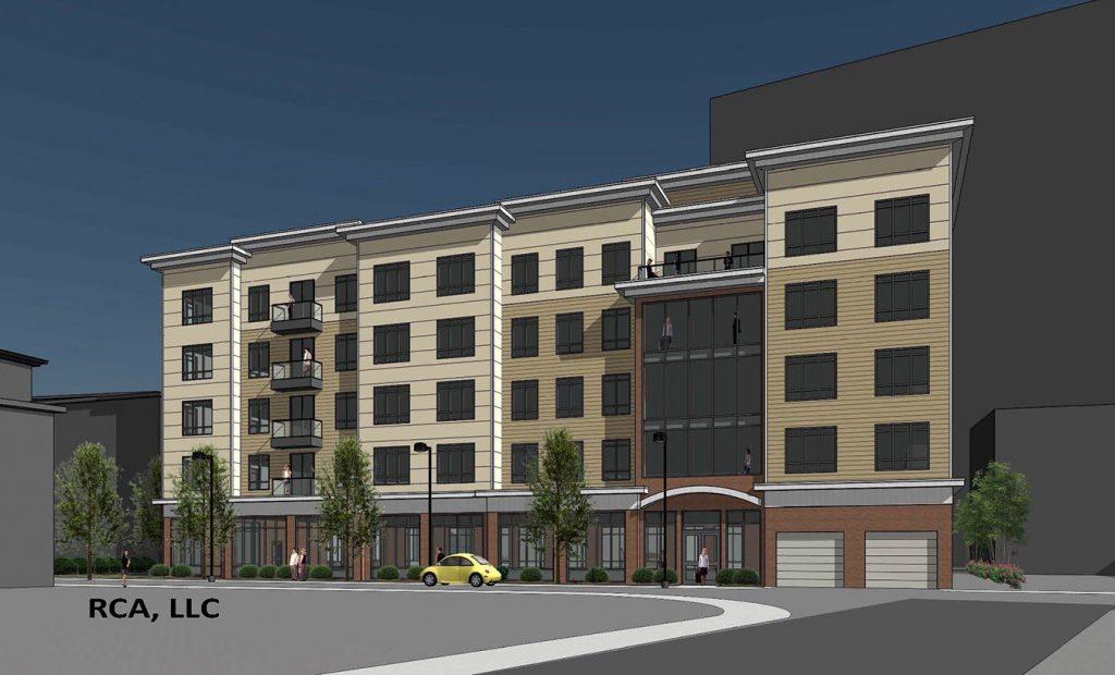 46 Hichborn Rendering, Urban Core Development