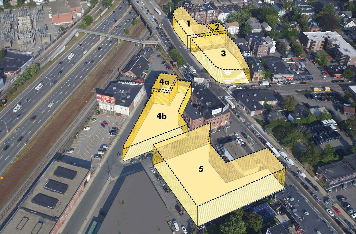 Allston Square Rendering, City Realty